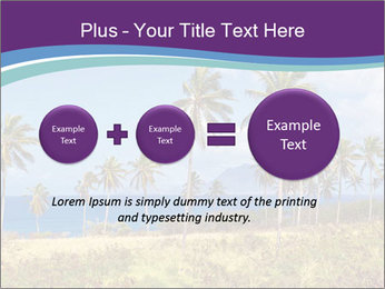 Palm trees PowerPoint Template - Slide 75