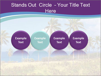 Palm trees PowerPoint Template - Slide 76