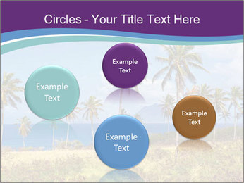 Palm trees PowerPoint Template - Slide 77