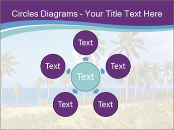 Palm trees PowerPoint Template - Slide 78