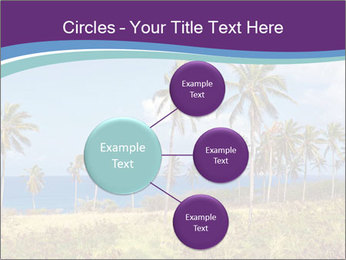 Palm trees PowerPoint Template - Slide 79