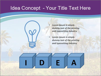 Palm trees PowerPoint Template - Slide 80