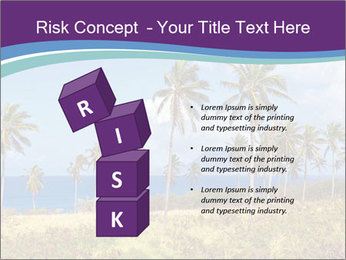 Palm trees PowerPoint Template - Slide 81