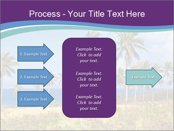Palm trees PowerPoint Template - Slide 85