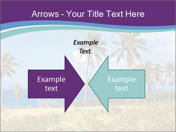 Palm trees PowerPoint Template - Slide 90