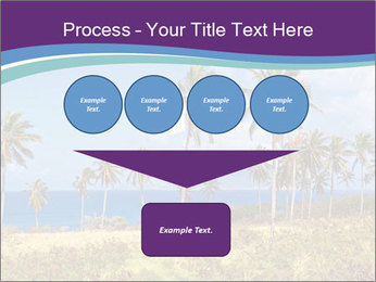 Palm trees PowerPoint Template - Slide 93
