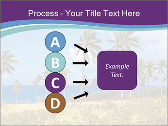 Palm trees PowerPoint Template - Slide 94