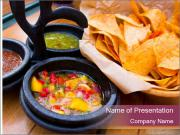Pico de gallo PowerPoint Template