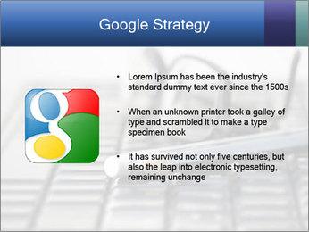 Laptop keyboard PowerPoint Template - Slide 10