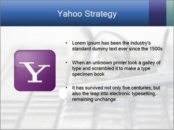 Laptop keyboard PowerPoint Template - Slide 11