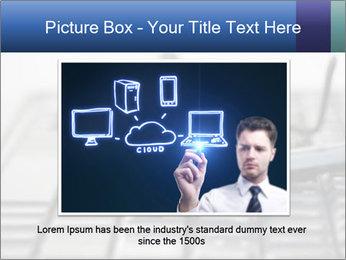 Laptop keyboard PowerPoint Template - Slide 15