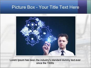 Laptop keyboard PowerPoint Template - Slide 16