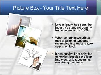 Laptop keyboard PowerPoint Template - Slide 17