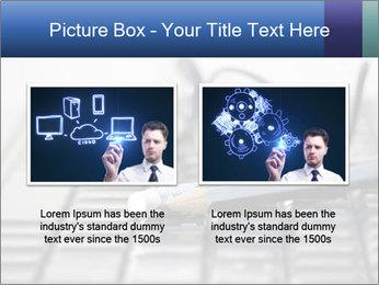 Laptop keyboard PowerPoint Template - Slide 18