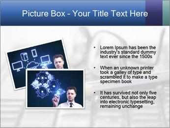 Laptop keyboard PowerPoint Template - Slide 20