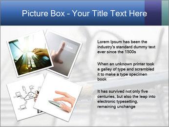 Laptop keyboard PowerPoint Template - Slide 23