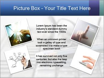 Laptop keyboard PowerPoint Template - Slide 24