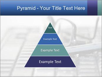 Laptop keyboard PowerPoint Template - Slide 30