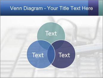 Laptop keyboard PowerPoint Template - Slide 33