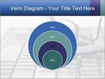 Laptop keyboard PowerPoint Template - Slide 34