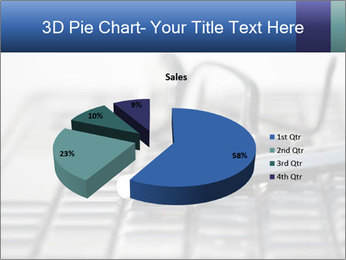 Laptop keyboard PowerPoint Template - Slide 35