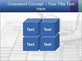 Laptop keyboard PowerPoint Template - Slide 39