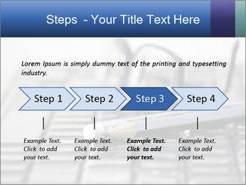 Laptop keyboard PowerPoint Template - Slide 4