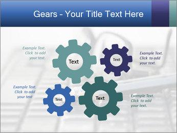 Laptop keyboard PowerPoint Template - Slide 47