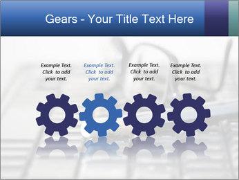Laptop keyboard PowerPoint Templates - Slide 48