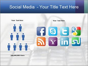 Laptop keyboard PowerPoint Templates - Slide 5