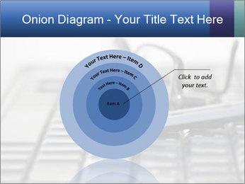 Laptop keyboard PowerPoint Template - Slide 61