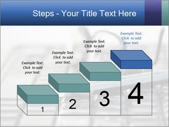 Laptop keyboard PowerPoint Template - Slide 64