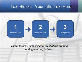 Laptop keyboard PowerPoint Template - Slide 71