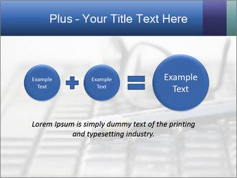 Laptop keyboard PowerPoint Template - Slide 75
