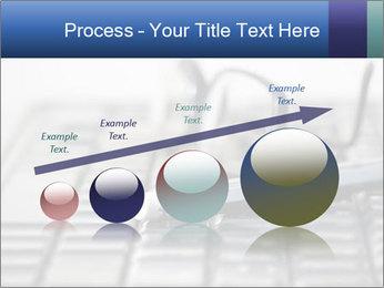 Laptop keyboard PowerPoint Template - Slide 87