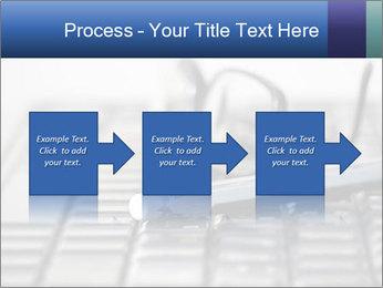 Laptop keyboard PowerPoint Template - Slide 88