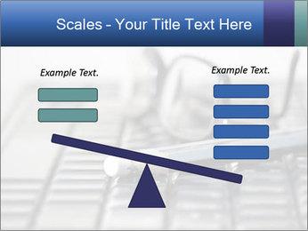 Laptop keyboard PowerPoint Template - Slide 89