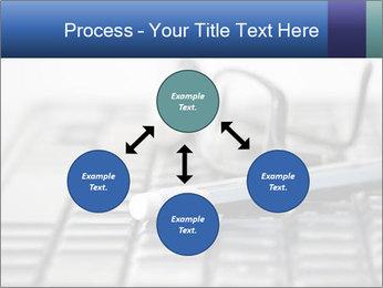 Laptop keyboard PowerPoint Template - Slide 91
