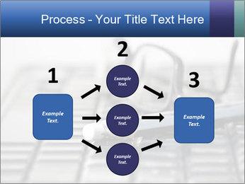 Laptop keyboard PowerPoint Template - Slide 92