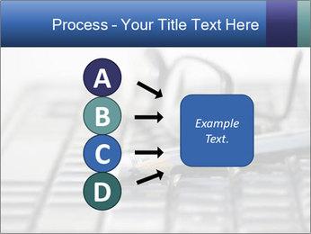 Laptop keyboard PowerPoint Template - Slide 94
