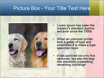 The girl with a wolf PowerPoint Template - Slide 13