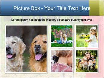 The girl with a wolf PowerPoint Template - Slide 19