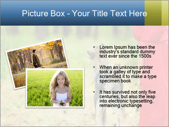 The girl with a wolf PowerPoint Template - Slide 20