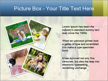 The girl with a wolf PowerPoint Template - Slide 23