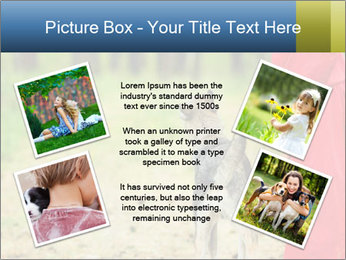 The girl with a wolf PowerPoint Templates - Slide 24