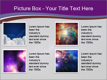 The Milky Way in the night sky PowerPoint Template - Slide 14
