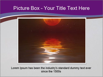 The Milky Way in the night sky PowerPoint Template - Slide 15
