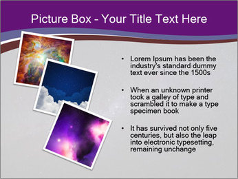 The Milky Way in the night sky PowerPoint Template - Slide 17