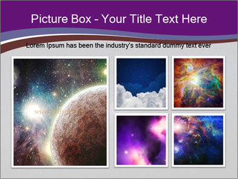 The Milky Way in the night sky PowerPoint Template - Slide 19