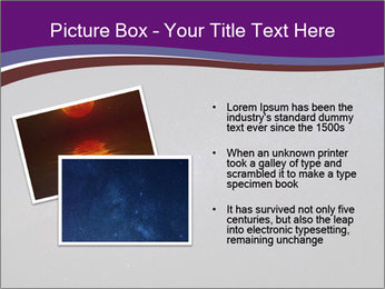 The Milky Way in the night sky PowerPoint Template - Slide 20